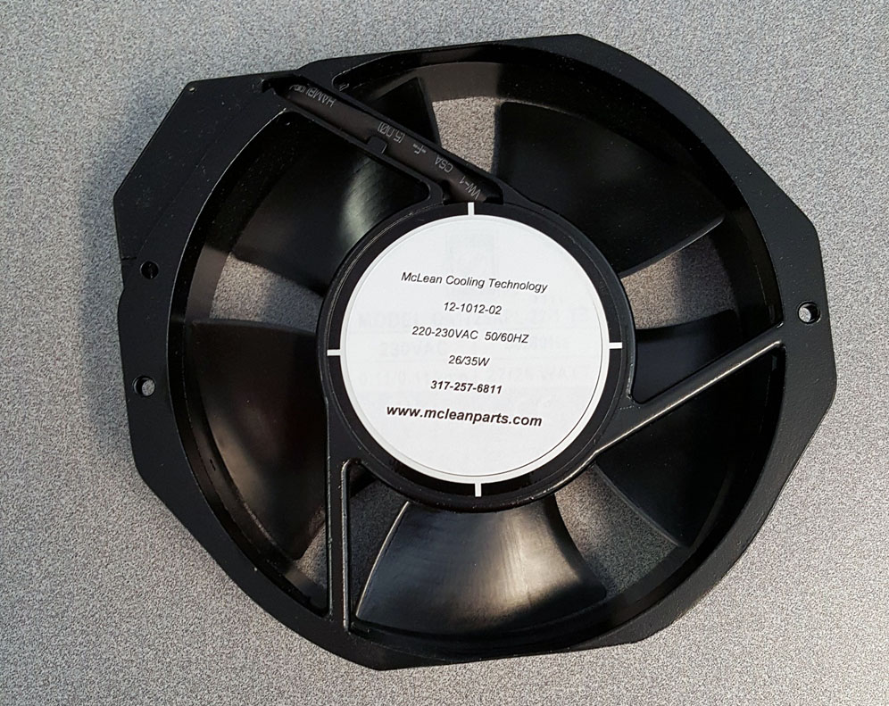 Pentair, Hoffman, McLean 12101202SP Fan, 230 Volt