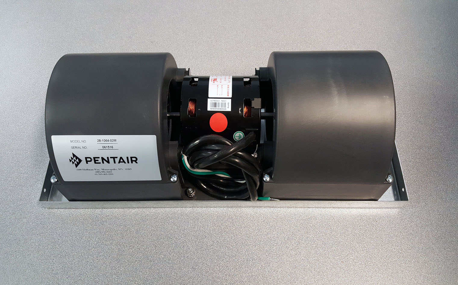Pentair, Hoffman, McLean 28106402M Blower Assembly, 230 Volt