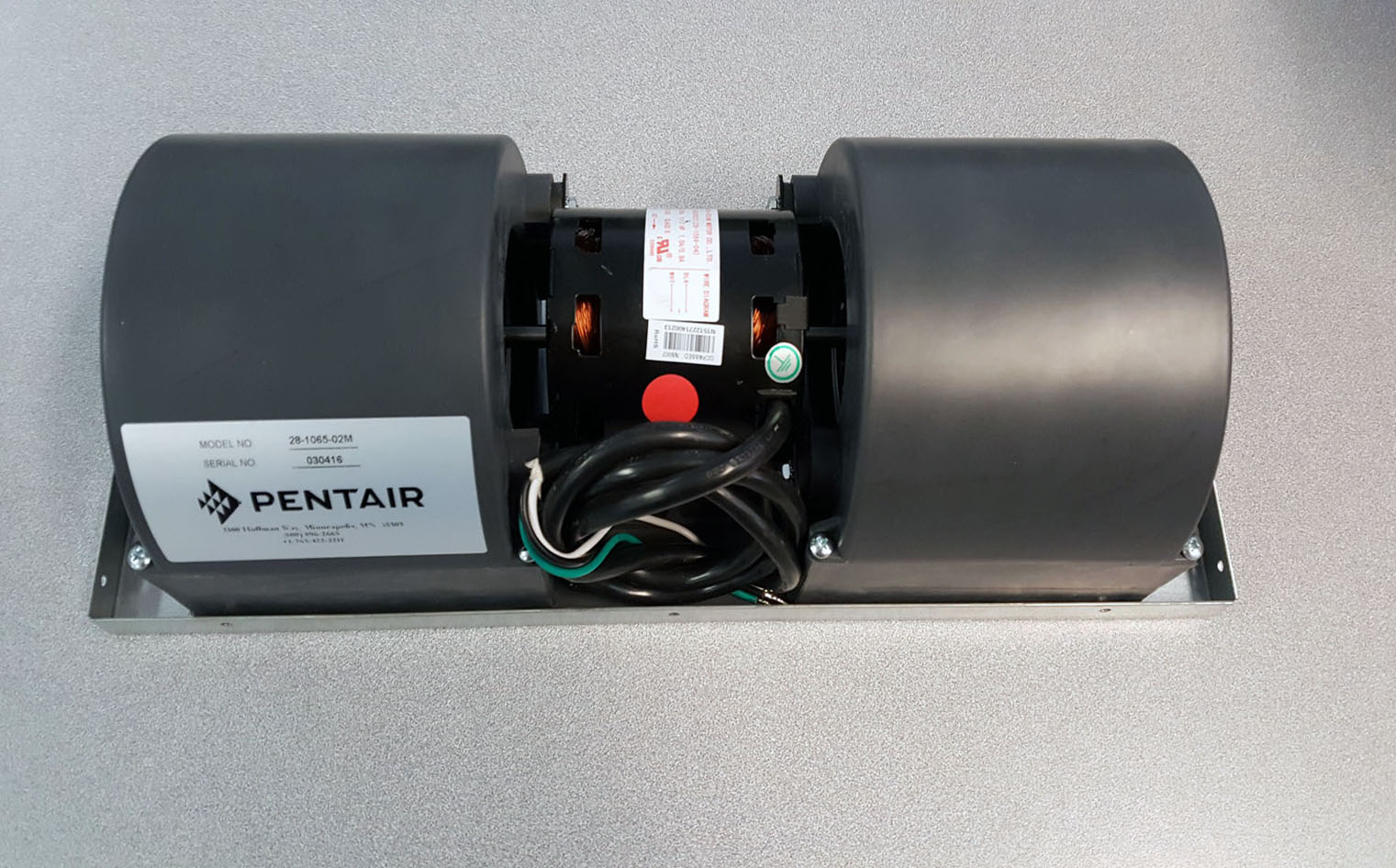Pentair, Hoffman, McLean 28106502M Blower Assembly, 230 Volt