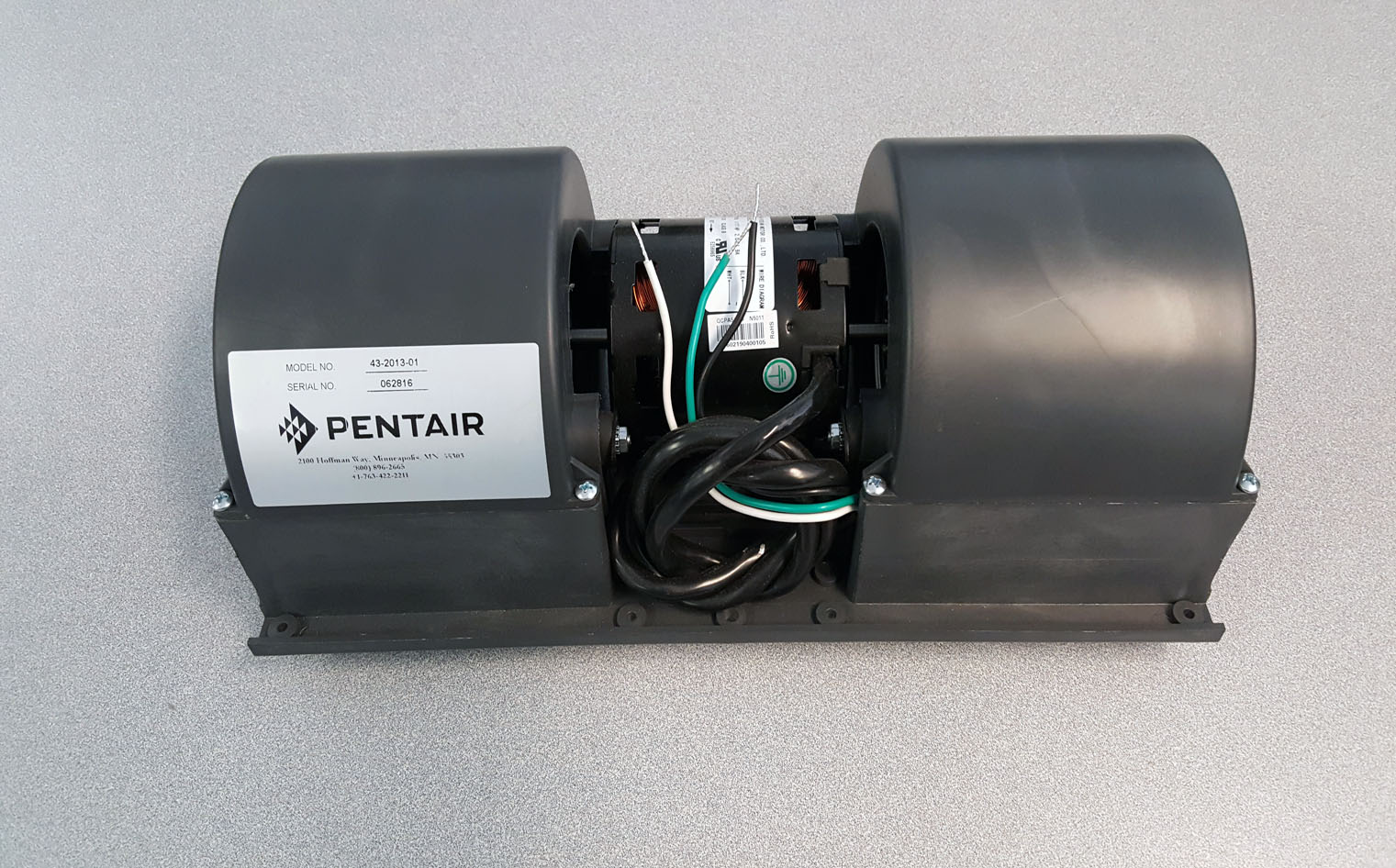 Pentair, Hoffman, McLean 43201301 Blower Assembly, 115 Volt