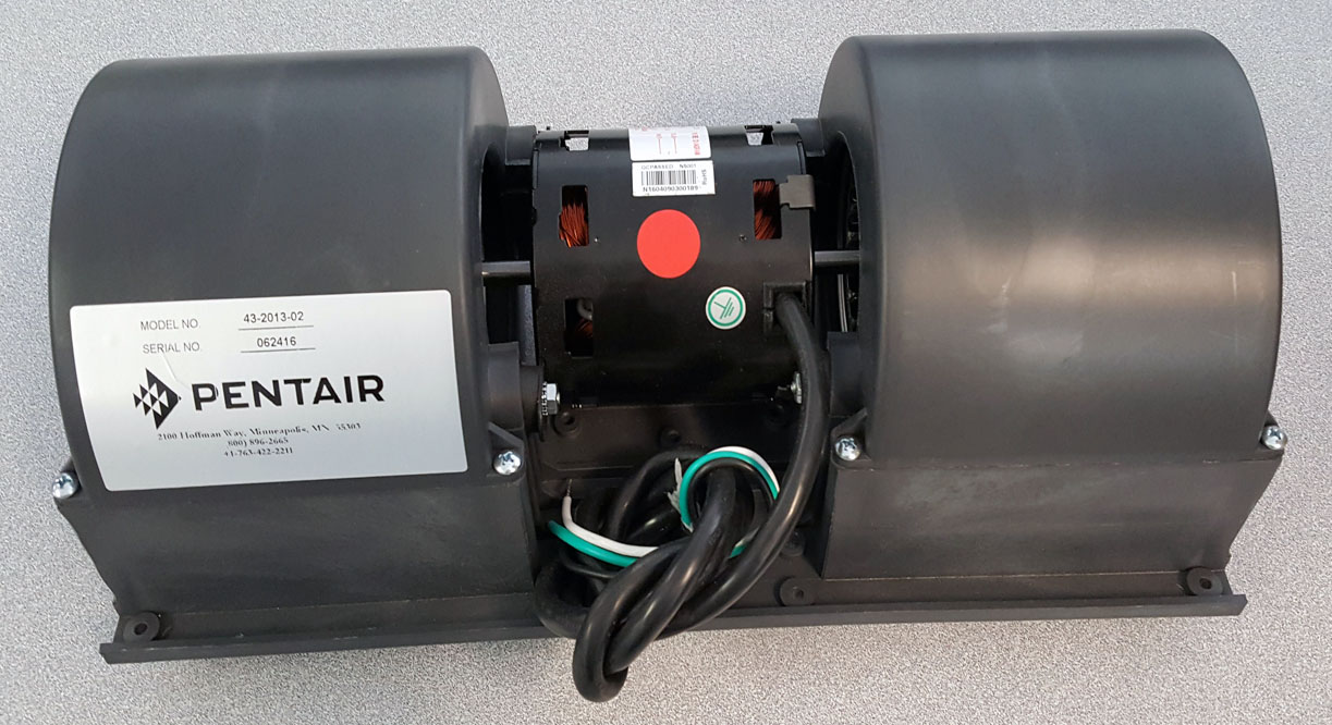 Pentair, Hoffman, McLean 43201302 Blower Assembly, 230 Volt