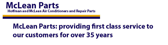 McLean Parts providing first class service for over 35 years